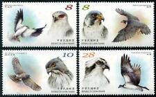 2020 Taiwan, fauna, birds of prey, 4 stamps, MNH