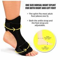 Foot Drop Splint Orthosis Plantar Fasciitis Injury Therapy Brace Pain Relief