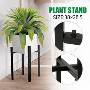 UK Extendable Metal Plant Pot Stand Flower Display Shelf Indoor Outdoor Garden