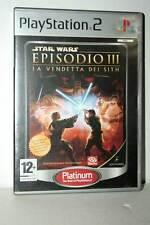 STAR WARS EPISODIO III USATO BUONO SONY PS2 EDIZIONE ITALIANA PLATINUM ML3 43271