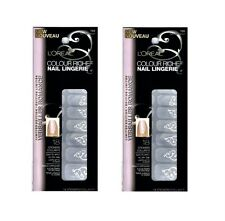 (2 Pack) L'oreal Colour Riche Nail Lingerie, 708 Tart My Heart