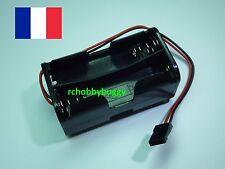 Porte pile réception 4 x AA RX Pack récepteur RC prise type Servo