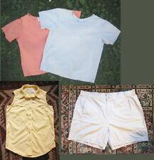 4 Pcs COLUMBIA Clothing Sz M-L-Women-2 Cotton Tshirts ,Nylon Outdoor Top,Shorts