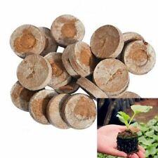 30mm Jiffy Peat Pellets Seed Starter Plug Pallet Seedling Soil Block Nursery Pot
