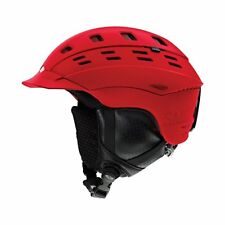 Smith Optics Adult Variant Brim Snowboard / Ski Helmet, Matte Fire, Large, NEW!