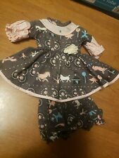 """Vintage American Character Sweet Sue School Time Dress For 15"""" Doll"""