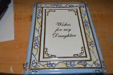 "Ardleigh Elliott ""Wishes for my Daughter"" Heirloom Porcelain Musical Book"