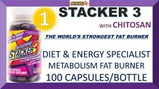 STACKER3 3 WORLD'S STRONGEST FAT BURNER DIET 2 ENERGY SPECIALIST (100 Capsules)