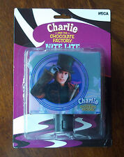 Johnny Depp. Charlie And The Chocolate Factory Nite Light. New On Card.