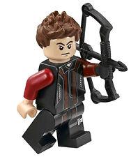 NEW LEGO HAWKEYE MINIFIG dc super hero figure minifigure 76030 76042 hawk eye