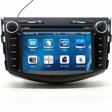 In Dash 2 Din Car Stereo Radio CD DVD Player GPS Navigation For Toyota RAV4 /Map