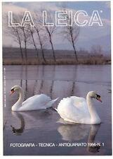 """G.Rogliatti """"La Leica"""" famosa rivista trimestrale N.1 del 1984 E500 BIS"""