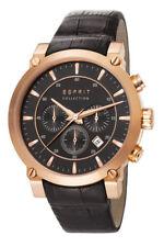 Esprit Collection Herrenuhr poros black rose gold EL102121F06 Analog Chronograph