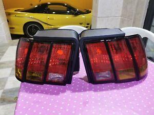 99-04 Mustang Cobra Amber Tail lights RARE SVT Mack1 saleen JDM Export GT Bullet
