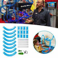 Remote Control Anti Gravity Rocket Car Tubular Racing Speed Pipe Tube Track Toy