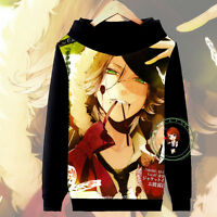 Anime DIABOLIK LOVERS Laito Hoodie Jacket Pullover Coat Sweatshirt#13-SE54