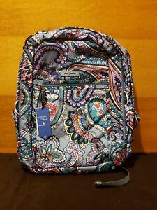 Vera Bradley Lighten Up Grand Backpack Kona Paisley - New With Tag