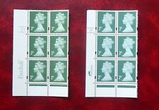 GB STAMPS :: MACHIN Y1668 2p :: 2 x CYL BLOCKS Enschedé, Harrison :: MNH