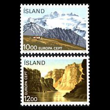 Iceland 1986 - EUROPA Stamps - Nature Conservation - Sc 622/3 MNH