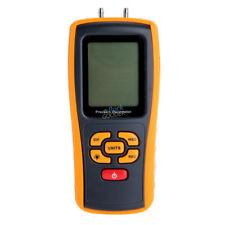 Handheld Digital Air Pressure Gauge Meter Manometer +/- 10kPa Measuring Tester