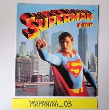 SUPERMAN IL FILM - Panini 1979 - Album Vuoto-Empty - VERY GOOD