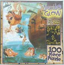 CEACO® 100pc GARY LOCKE • YO-HO GLOW • PIRATES SWIMMING • PUZZLE Jig Saw USA