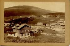 Tchéquie, Das Riesengebirge, Spindelmuhle Vintage print.  Tirage argentique