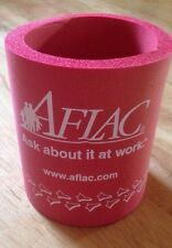 Pair Of Aflac Duck Red Beer/Soda Coozie