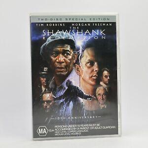 The Shawshank Redemption 2 Disc Tim Robbins Morgan Freeman 2005 DVD R4 GC