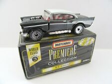 Matchbox Superfast 4d '57 Chevy - Dark Metallic Grey - Mint/Boxed