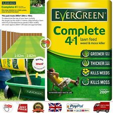EverGreen Complete 4-in-1 Lawn Care Bag Kills Weeds and Moss and Feeds Lawn 7 kg