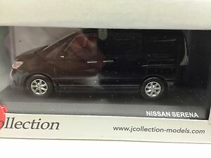NISSAN SERENA 2010 Black1:43 J COLLECTION VOITURE-DIECAST-JCL217