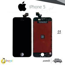 DISPLAY LCD + TOUCH SCREEN PER APPLE IPHONE 5 VETRO NERO SCHERMO MONITOR 5G
