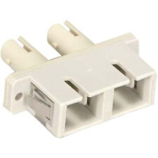 ST-SC Fiber Optic Multimode Duplex Coupler / Adapter