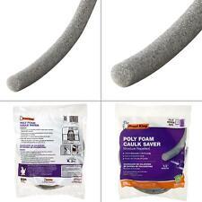 1/2 in. x 20 ft. grey poly foam caulk saver moisture repellent