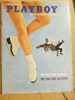 Playboy  February 1958 * Very Good Condition(maybe better) * Free Shipping USA