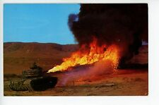 Flame Thrower Tank! Vintage Army Camp Pendelton CA Las Flores ca. 1950s