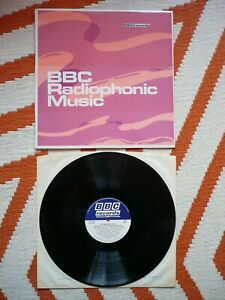 BBC Radiophonic Music Workshop Vinyl UK BBC Mono 1971 Press LP Delia Derbyshire