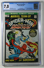 Marvel Team-Up  #1 CGC 7.0 Marvel 1972 Spiderman Team-Ups Begin, Human Torch