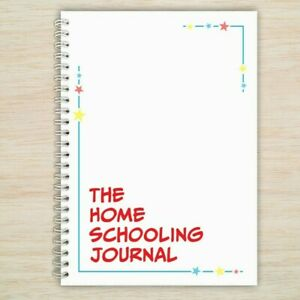 Kids Home School Education Journal Daily Planner Book Key Stage 2  6 - 10 years