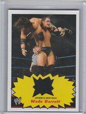2012 TOPPS WWE HERITAGE WADE BARRETT SHIRT RELIC