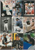 (14) card Frank Thomas mixed lot, Chicago White Sox HOF