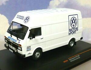 IXO 1/43 VOLKSWAGEN VW LT45 VW MOTORSPORT TEAM RALLY ASSISTANCE/SUPPORT VAN