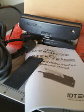 Id Tech Wcr 3237-612C Omni Barcode Scanner Card Slot Reader - Brand New in Box