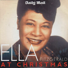 ELLA FITZGERALD AT CHRISTMAS - PROMO CD ALBUM / JINGLE BELLS, FROSTY THE SNOWMAN