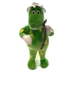 The Wiggles: Flute Playing  Dorothy the Dinosaur Plush Soft Toy 2013 30cm