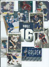 Brett HULL - U-Pick-List (NHL Hockey Card Inventory) - HOF Inserts - BLUES/STARS