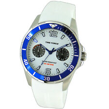 TIME FORCE TF-4110B11  RELOJ CADETE ACERO 50M