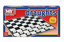 MY Traditional Games Draughts Classic Family Fun 2 Players (HL229)