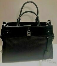Michael Kors Gramercy Large Leather Satchel Black 30S8SG753L New with Tags